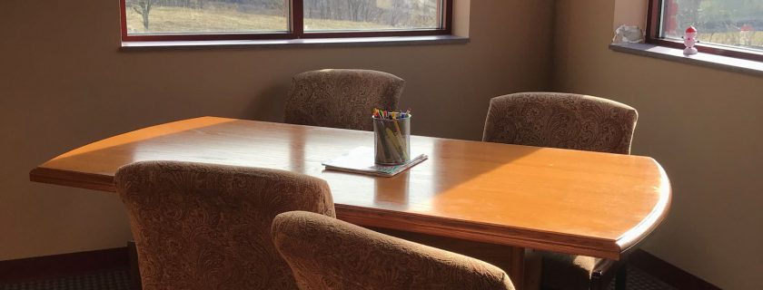 Library Tour: Quiet Room and Study Spaces